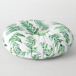 Jungle Ferns Floor Pillow