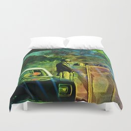A Nightly Pull Over:The Casual Affair Duvet Cover