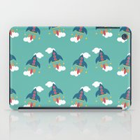 rocket iPad Cases featuring Rocket by Kathrin Legg