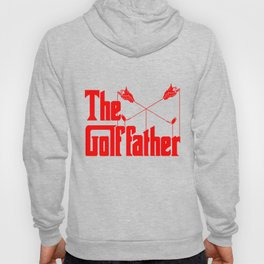The Golf Father - Funny Golfer product Gift for Dad Hoody