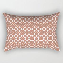 Cavern Clay Crochet Rectangular Pillow