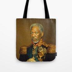 Morgan Freeman - replaceface Tote Bag