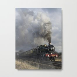 Rood Ashton Hall on the move Metal Print