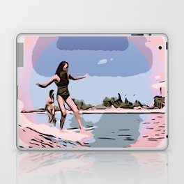 Cross step Laptop & iPad Skin