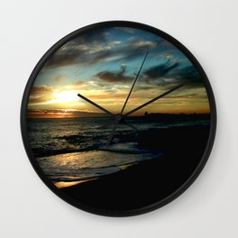 Nature's Glory Wall Clock