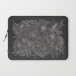 All The Dahlias - Drawing Laptop Sleeve