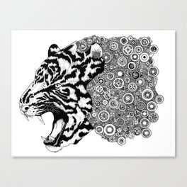 The Tiger Canvas Print