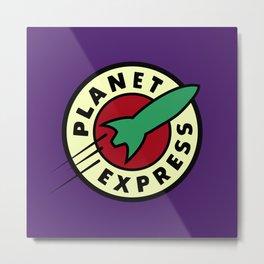 Planet Express Metal Print