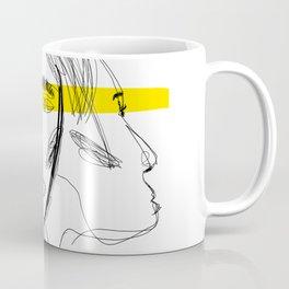 3 Figure YELLOW Coffee Mug