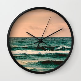 Escape to Paradise Wall Clock