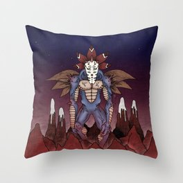 Marzilla Throw Pillow