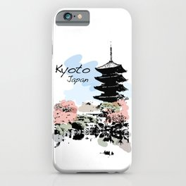 Kyoto Temple Japan iPhone Case
