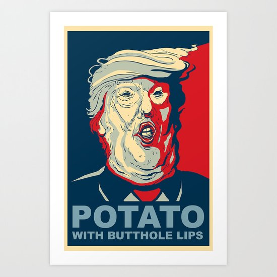 """""""Potato with Butthole Lips"""" by dustypeterson"""