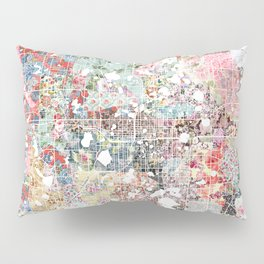 Orlando map landscape Pillow Sham
