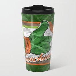Nunchucks Metal Travel Mug