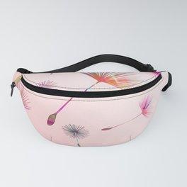 Festive Colorful Dandelions Design Fanny Pack