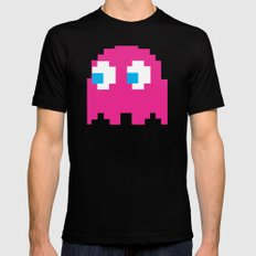 Pinky Mens Fitted Tee Black MEDIUM