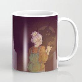 Shadows Lady Coffee Mug