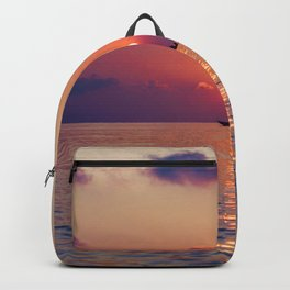 Calm Sunset (Color) Backpack