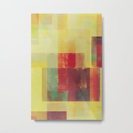 Abstract Geometry No. 22 Metal Print