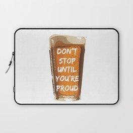 Drink with pride Laptop Sleeve