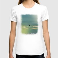 fly T-shirts featuring Fly by Viviana Gonzalez