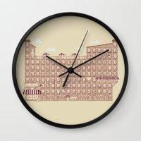 the neighbourhood Wall Clocks featuring Periodic Neighbourhood by Salih Gonenli