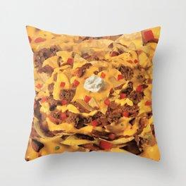 Nacho Time Throw Pillow