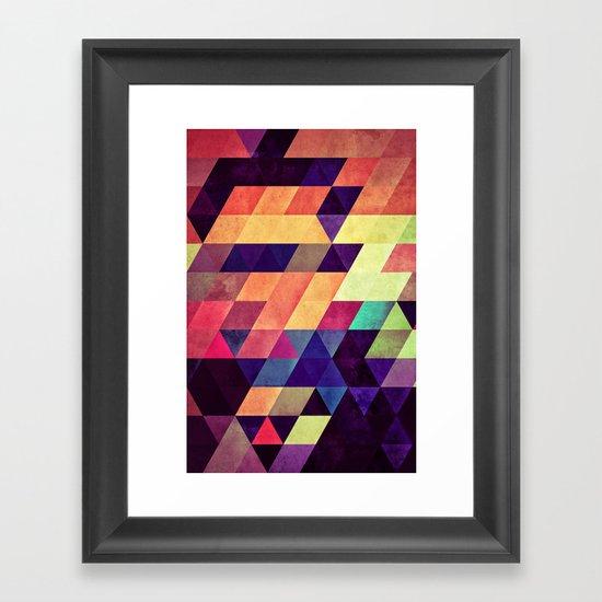 zzyymmyynng Framed Art Print