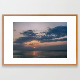 Phuket Island Sunset Framed Art Print
