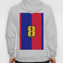 soccer team jersey number eight Hoody