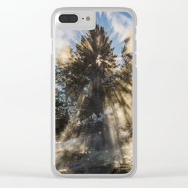An Explosion of Sunlight Left Me Awestruck! Clear iPhone Case