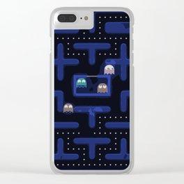 A Retrò Game Clear iPhone Case