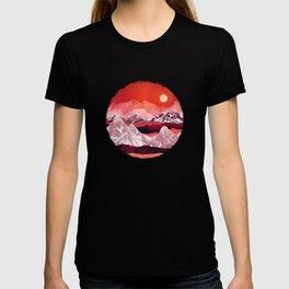 Scarlet Glow T-shirt