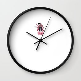Machete Happens Wall Clock