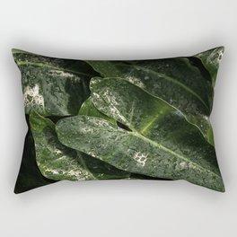 Green Design Rectangular Pillow