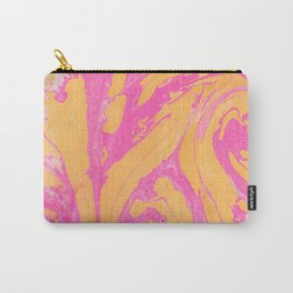 tie dye series: pink & tangerine Carry-All Pouch