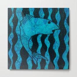 Here, Fishy Metal Print