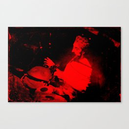 red tabla Canvas Print