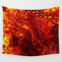 Torched Wall Tapestry