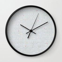 Binary Code Love Wall Clock