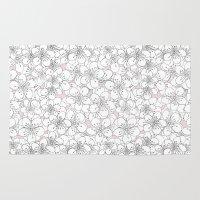 Cherry Blossom Pink Blocks Rug