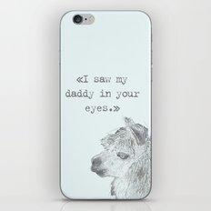 Daddy Lama iPhone Skin