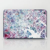 baltimore iPad Cases featuring Baltimore by MapMapMaps.Watercolors