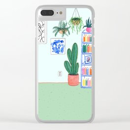 Living Room Clear iPhone Case