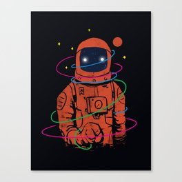 Circles In SPACE Canvas Print