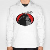 ape Hoodies featuring GO, APE by JVZ Designs