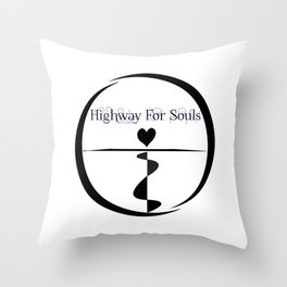 Highway For Souls Throw Pillow