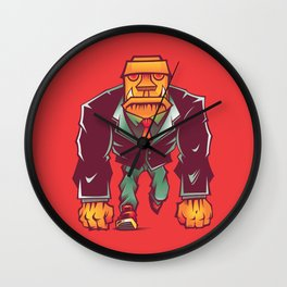 Winston Bricks Wall Clock