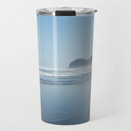 New Zealand, Piha Beach Travel Mug